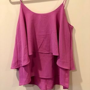 Lavender Tiered Tank Top